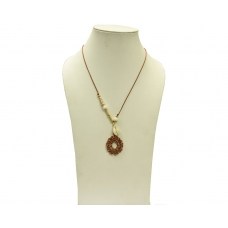 Beads India Tortoise Shell 12112016 Necklace