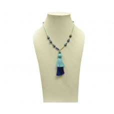 Beads India Olympian Blue 16112016 Necklace