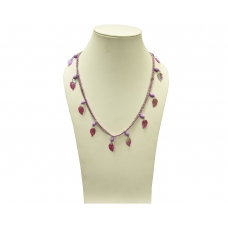 Beads India Meadow Mauve 1404339 Necklace