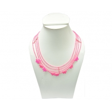 Beads India Hot Pink 1404394 Necklace