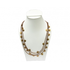 Beads India Toffee 1404400 Necklace