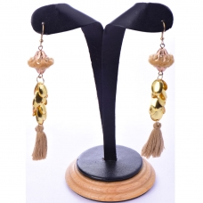 Beads India Croissant 1404534 Earrings