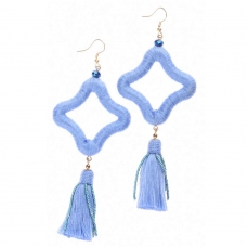 Beads India Star Tassel Girls & Women 1405398 Earrings