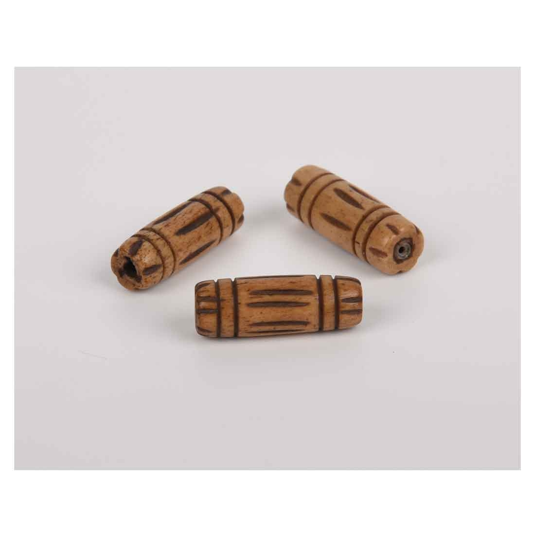 Beads India 1700009 Handcrafted Bone Beads/Discounts Above 500 pcs