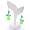 Beads India Green Flash 1404486 Earrings