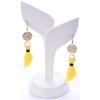 Beads India Cyber Yellow 1404488 Earrings