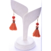 Beads India Mecca Orange 1404489 Earrings