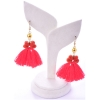 Beads India Poppy Red 1404499 Earrings