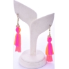 Beads India Peach Pink  1404524 Earrings