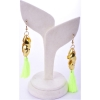 Beads India Lime Punch  1404525 Earrings